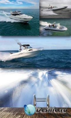 Водный транспорт: Моторная лодка, катер, яхта