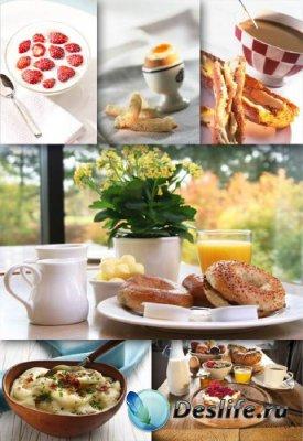 Фотосток: Завтрак (подборка изображений)