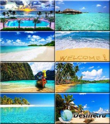 Красочные обои - Самые шикарные пляжи #22