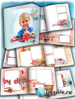 Детская фотокнига – Славный мальчуган
