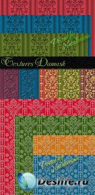 Текстуры для Дизайна – Дамасские узоры