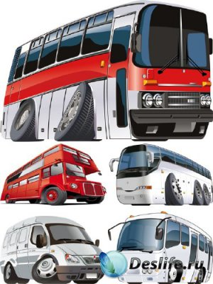 Стилизованный транспорт: Автобус (Икарус, ГАЗель, Богдан и т.д.) прозрачный ...