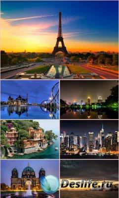 Обои красивые города мира. часть 6