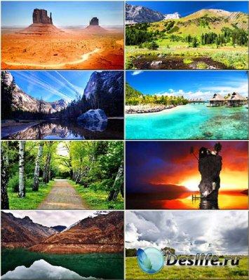 Красочные обои - Истинная красота природы #127