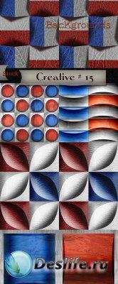 Фоны в сине - красном цвете для творчества – Креатив # 15