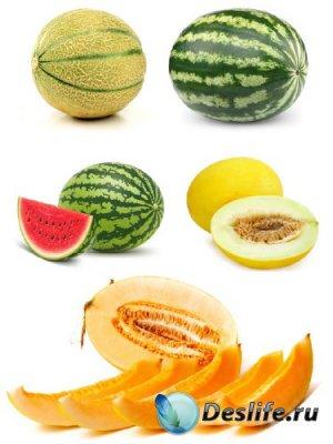 Сочный арбуз и сладкая дыня (подборка изображений)