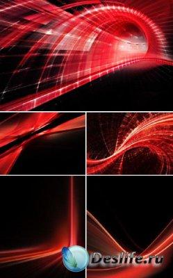 Красный абстракт
