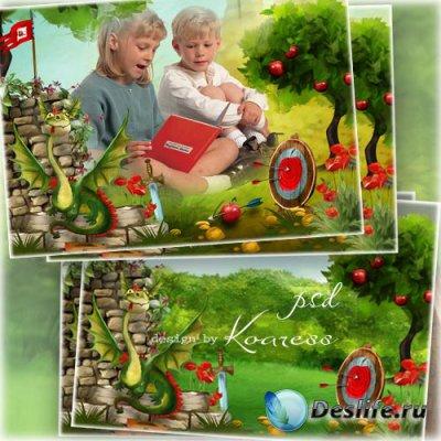 Детская рамка для фото - В мире любимых сказок