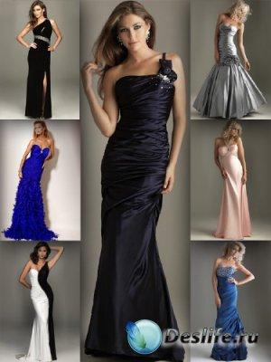 Вечерние платья (большая подборка изображений)