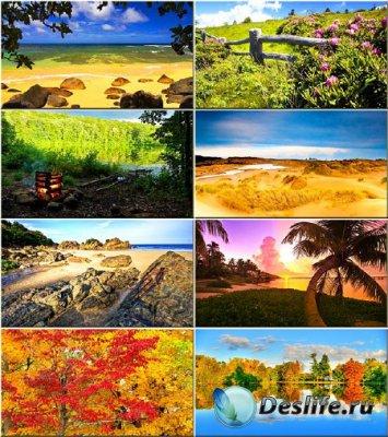 Красочные обои - Красота природы #37