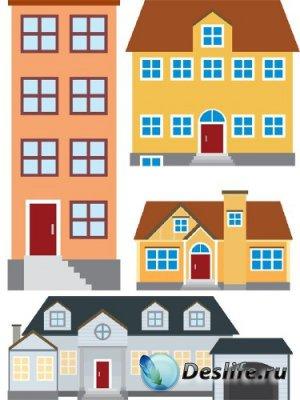 Архитектурные строения и сооружения (вектор) часть четвертая