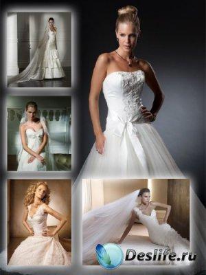 Белые свадебные и вечерние платья (часть вторая)