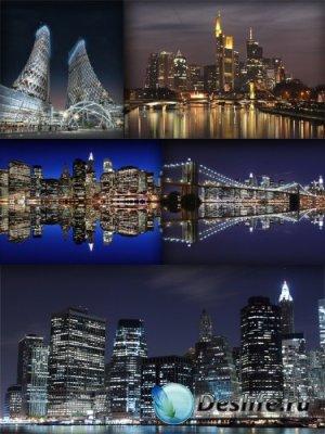 Ночной город (подборка изображений)