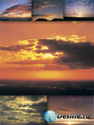 Красивые закаты и восходы (подборка изображений)