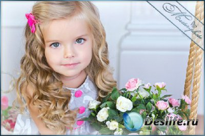 Детский шаблон для девочки - Маленькая принцесса