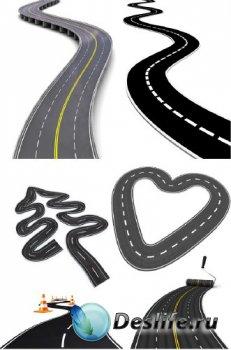 Дорога, трасса, шоссе (подборка 3d изображений)