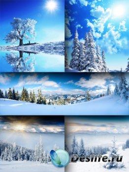 Ясный зимний день (подборка фото пейзажей)