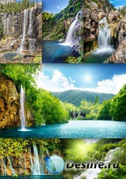 Прекрасные водопады (подборка изображений)