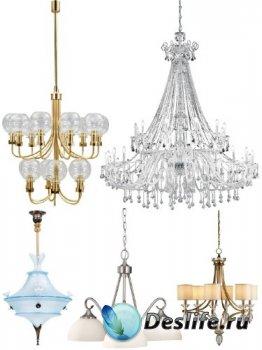 Люстра, потолочный светильник (подборка изображений)