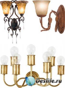 Бра - настенный светильник (подборка изображений)