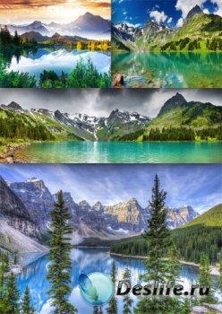 Великолепные горные озера (подборка пейзажей)