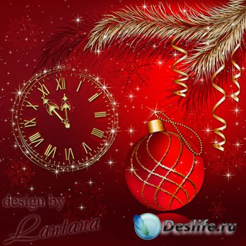 PSD исходник - Волшебный праздник новогодний 2