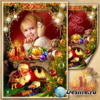 Рамка для фото - Рождественская сказка