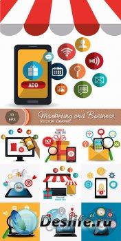 Инфографика - Маркетинг и Бизнес