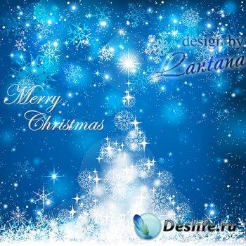 PSD исходник - Волшебный праздник новогодний 15