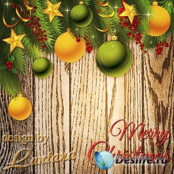 PSD исходник - Волшебный праздник новогодний 22