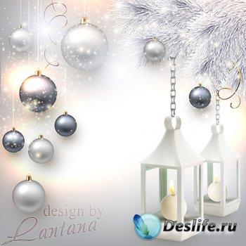 PSD исходник - Волшебный праздник новогодний 33