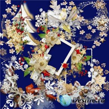 Кластеры и клипарты png для новогоднего дизайна - Новый год вот-вот настане ...