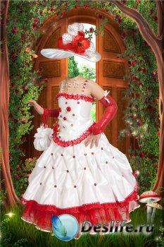 Фотошоп костюм для девочек – В нарядном платье