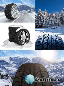 Зимние шины, покрышки (подборка изображений)