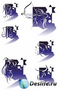 Знаки зодиака в векторе (часть пятая)