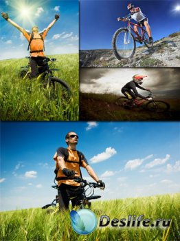 Люди на велосипедах, Велоспорт (подборка изображений)