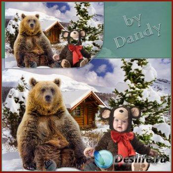 Костюм для мальчика - Два медведя