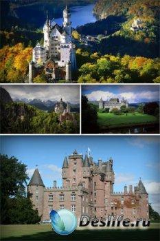 Красивые старинные замки и дворцы (подборка изображений)