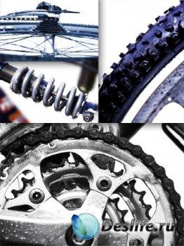 Запчасти от велосипеда (подборка изображений)