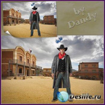 Костюм для мужчины - Ковбой на Диком Западе