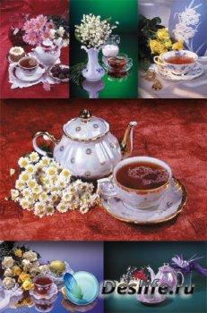 Фото - натюрморт: Чай и Цветы