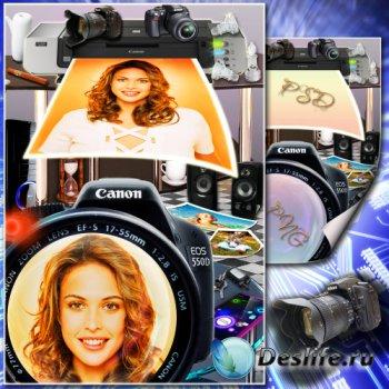 Рамка для фото - Современные цифровые технологии