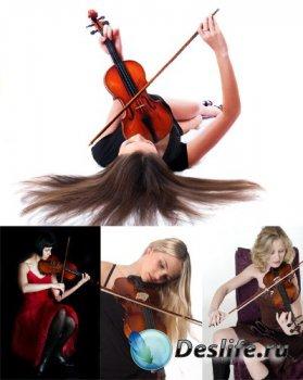 Музыкант: Скрипачка (подборка фото)