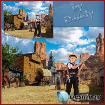 Костюм для мальчика - Ковбой на Западе