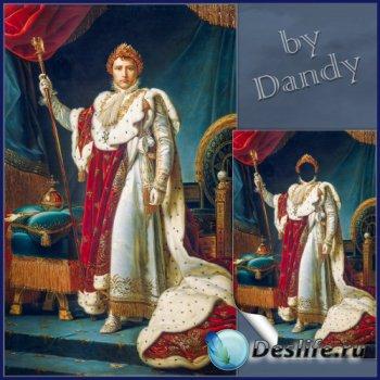 Шаблон для мужчины - В костюме Наполеона