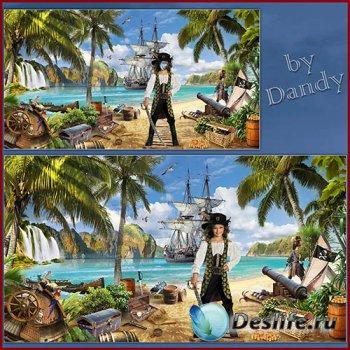 Костюм для девочки - Принцесса пиратов