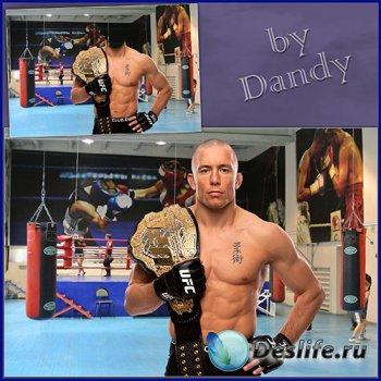 Костюм для мужчины - Чемпион кикбоксинга