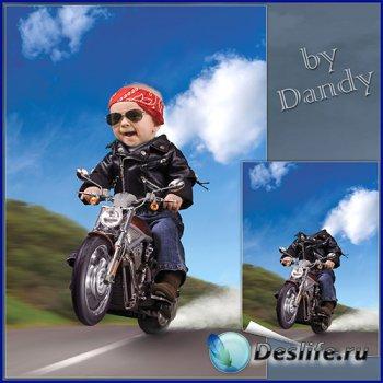 Костюм для мальчика - Отчаянный байкер