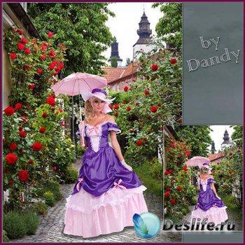 Костюм для девушки - Мадемуазель с зонтиком