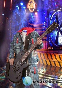 Костюм для фотошопа мальчикам – Гитарист
